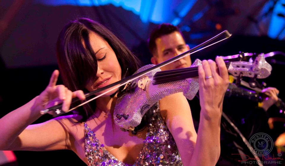 electric violinist hire london montreal canada corporate entertainment