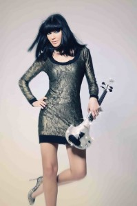 linzi stoppard world exclusive swarovski crystal violin