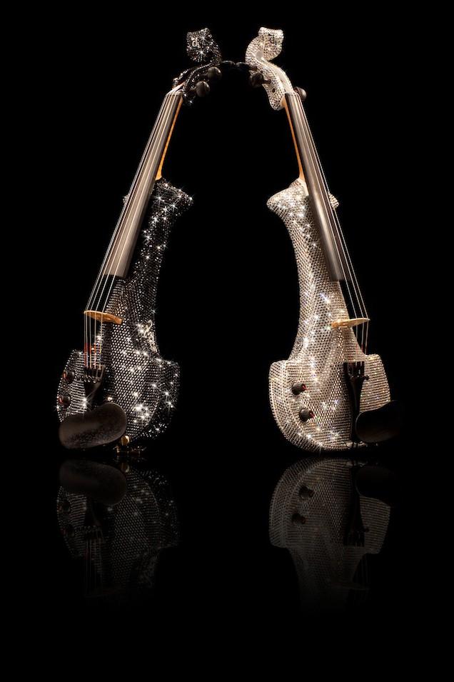 linzi stoppard swarovski crystal violins fuse wiki