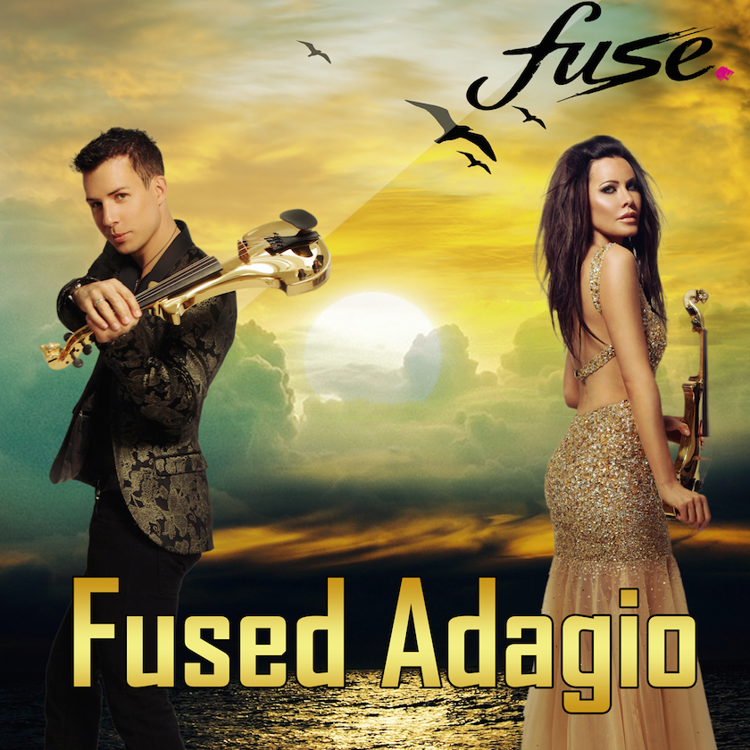 electric violinist linzi stoppard fused adagio single release