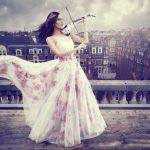 Electric Violinist Linzi Stoppard Launches New Single on Selfridges Roof Top