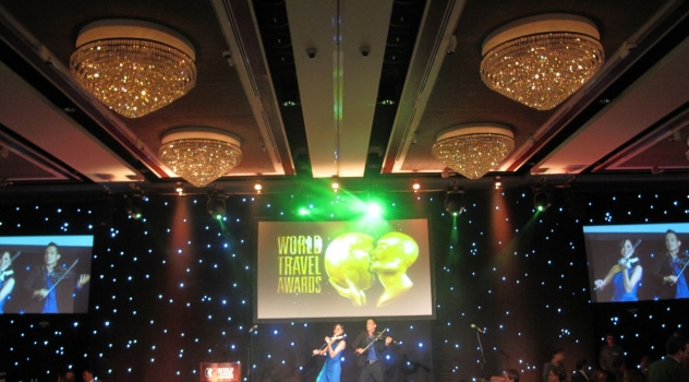 The FUSE Electric Violinists Linzi Stoppard And Ben Lee Headline at World Travel Awards