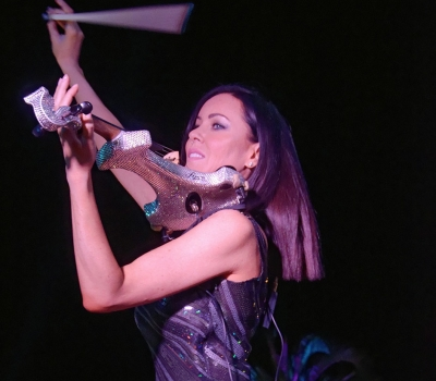 Number One Event Entertainment Electric Violin Group Wows VIPs At Monaco GP