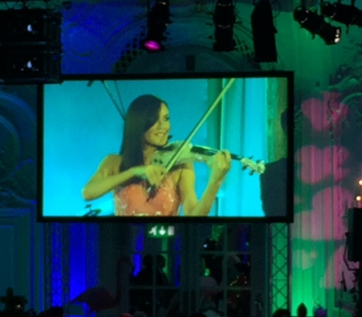 Linzi Stoppard Performs At MacMillan Annual Ball