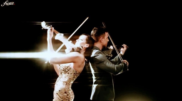 Linzi Stoppard and Fuse violinists New screen images