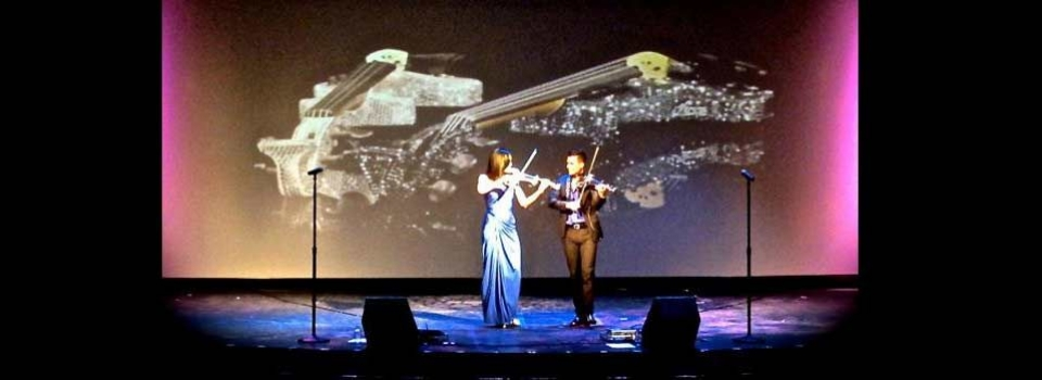 fuse electric violin duo live
