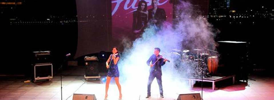 fuse electric violin duo live istanbul